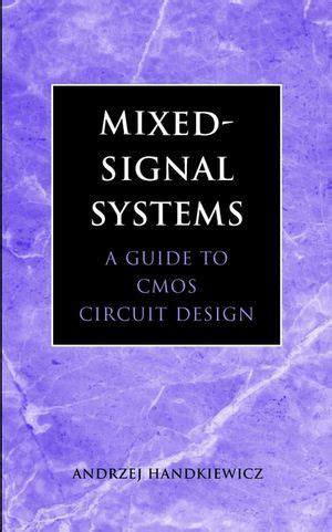 digital signal processing with kernel methods wiley ieee books wiley ieee press mixed signal systems a guide to cmos