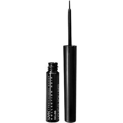 Eyeliner Spidol Nyx collection noir liquid black liner ulta