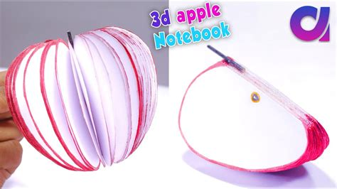 how to write a paper on a mac how to make 3d apple notebook tutorial diy apple notepad