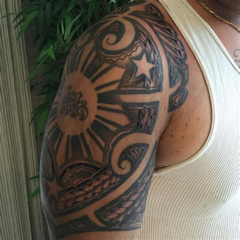 tropical tattoos for men 27 hawaiian ideas designs design trends