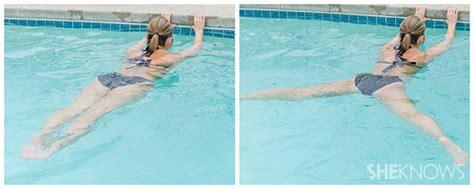 water toning exercises