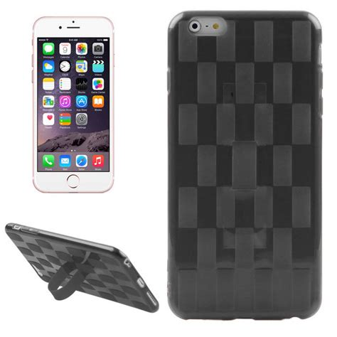 Softcase Macaron Black Iphone 66s 1 hat prince woven pattern soft for iphone 6 plus 6s plus black free shipping dealextreme