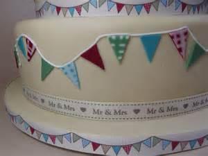 Awesome Wordpress Wedding Themes #9: Bunting-cake-closeup.jpg
