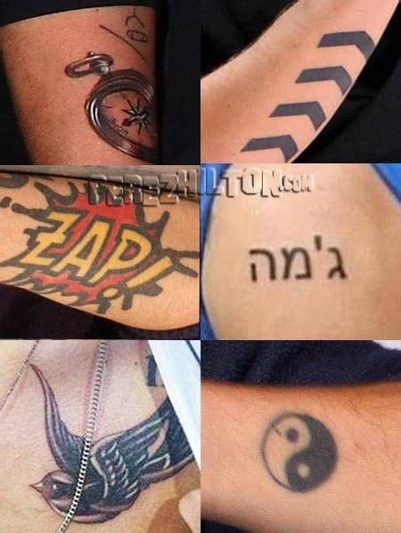 zap tattoo one directions tattoos i want liam s arrows and zayn s zap