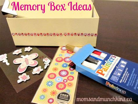 box ideas memory box ideas for munchkins