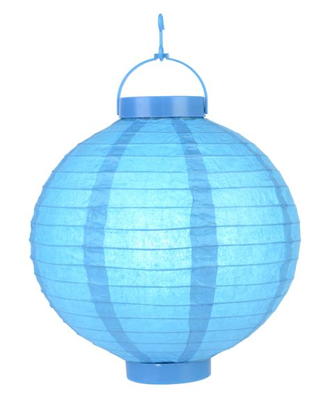 Lighted Paper Lanterns by 12 Quot Turquoise 16 Led Paper Battery Lantern