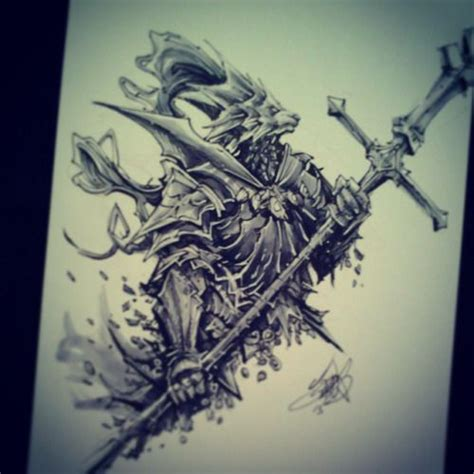 dark souls tattoo ornstein souls search