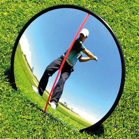 golf swing mirror eyeline 360 swing mirror playbetter com