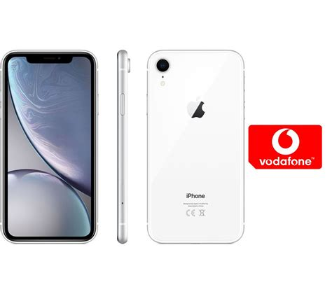 buy apple iphone xr pay as you go micro sim card bundle 128 gb white free delivery currys