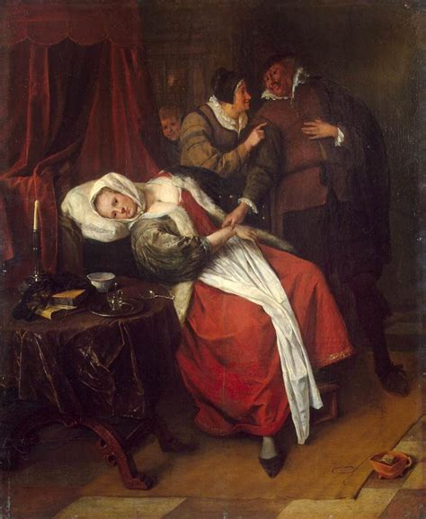 with pictures in file jan steen the doctor s visit wga21714 jpg