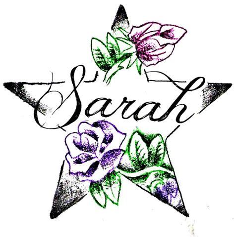 tattoo name sara sarah tattoo by silent sarah05 on deviantart