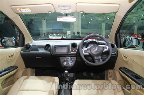 Cover Dashboard Mobilio Rs 2016 Sale honda india s 7 seat compact suv unveiling at auto expo 2016