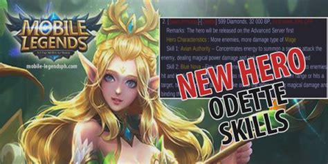 wallpaper mobile legend odette new hero odette skills and price mobile legends blog