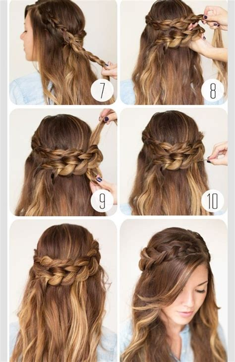 pictures of cute hairstyles with braids all around with black people cute wrap around braid trusper