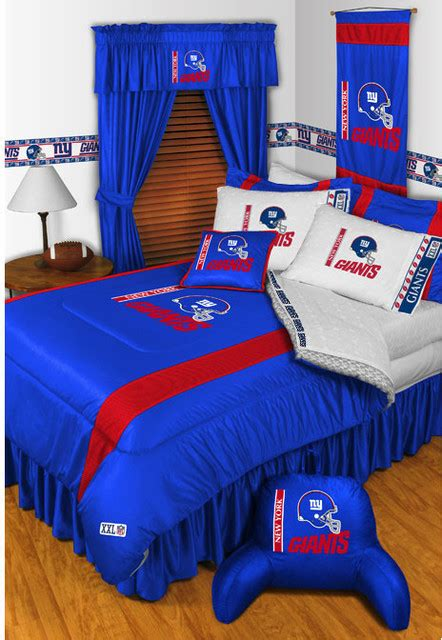 Football Rugs Field Nfl New York Giants Bedding And Room Decorations Modern