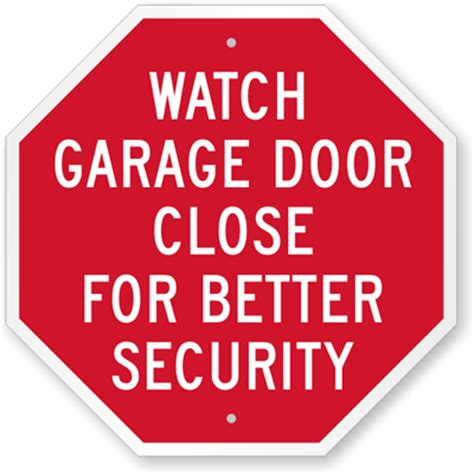 Keeping Bedroom Doors Closed Garage Parking Signs