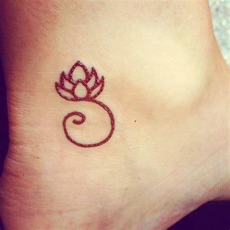 tattoo lotus outline outline lotus flower tattoo on ankle tattooshunt com