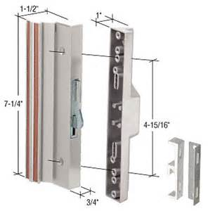 Sliding Patio Door Parts Sliding Glass Door Hook Style Handle Sets Patio Door Parts Your Best Source For Sliding Glass
