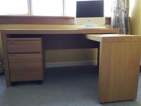 small pull out desk ikea malm desk with pull out panel computer desk oak