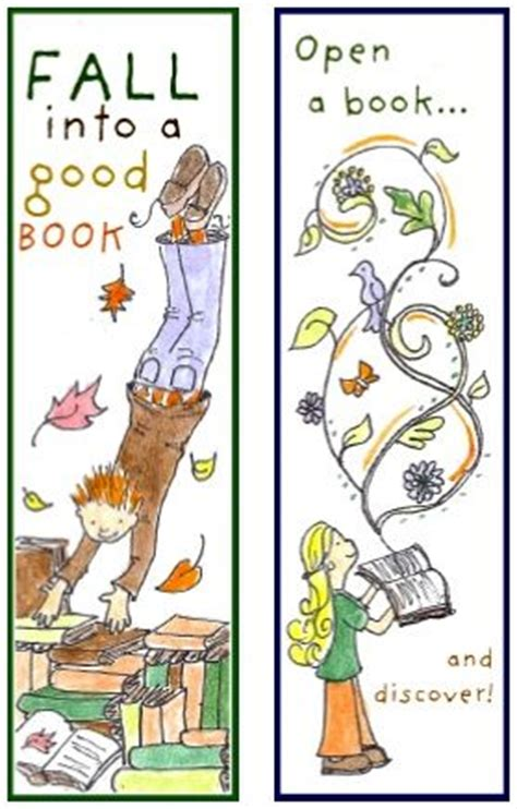 printable bookmarks fall 17 best images about book marks on pinterest marque page