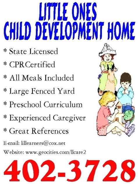daycare advertising flyers bf digital printing