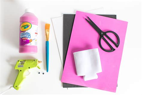 Diy Flamingo Can Cooler Free Template Club Crafted Can Cooler Template