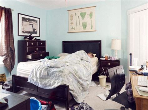 messy bedrooms messy rooms can affect your sleep as hoarders take longer