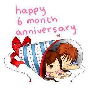 Happy 6 month anniversary by steffiesilva on deviantart