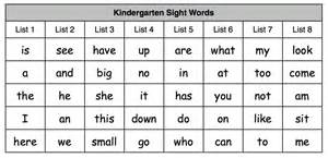 Trails and trees growing readers kindergarten sight word sentences