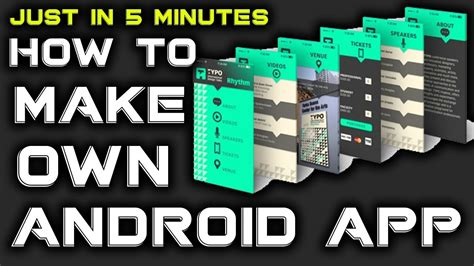how to build android apps how to make a free android app in minutes urdu