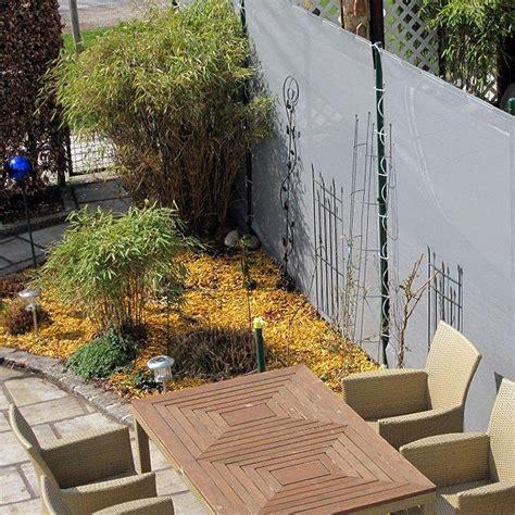 Sichtschutz Bambus Garten by Balkon Sichtschutz Lavitio
