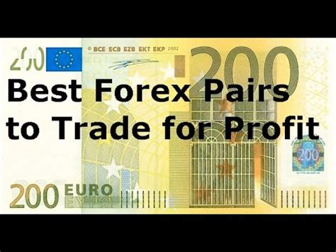 best currencies to trade forex best currency pairs to trade for profit