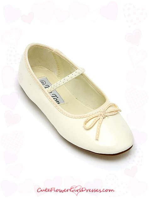 flower shoes ivory ivory ballerina style flower shoes