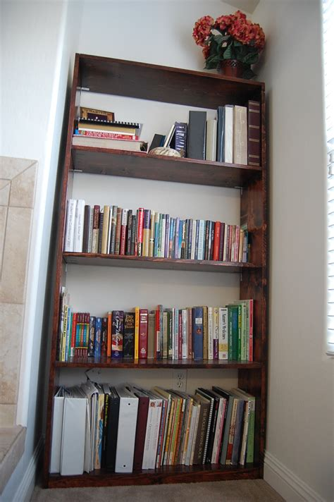 ana white skinny ikea lack bookshelf diy projects