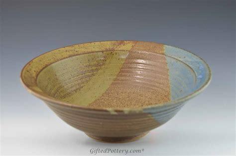 Handmade Bowls Pottery - handmade pottery medium bowl 11 quot oasis glaze