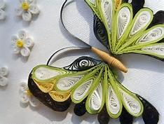 Paper Quilling Butterfly Pattern