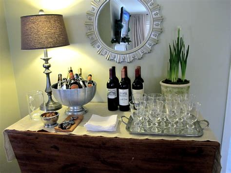 setting up a home bar how to set up a wine bar at home entertaining how to