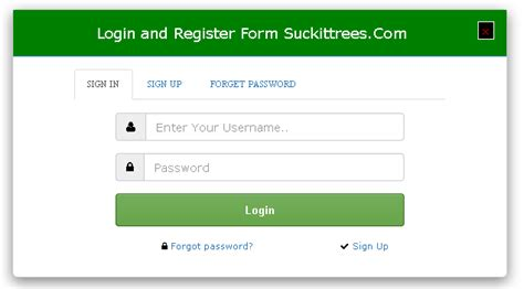membuat sistem login dengan bootstrap login and registration form with bootstrap