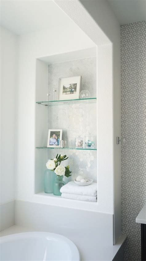 glass shelving for bathroom 25 best ideas about glass shelves on window
