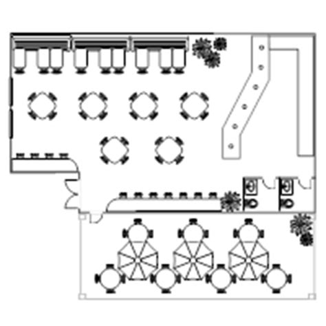 restuarant floor plan restaurant floor plan exles