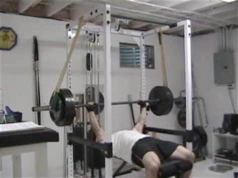 bench press lockout reverse band bench press for increasing bench press