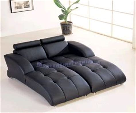 double leather chaise lounge contemporary black leather double lounger chaise