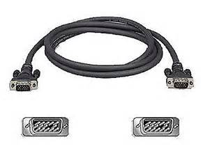 Kabel Vga 3 M High Quality Gold Plated belkin coax high resolution monitor vga cable hd15 m m 1080p
