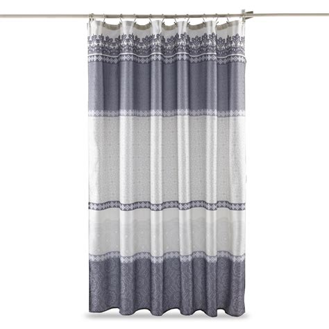 shower curtains kmart essential home shower curtain quincy