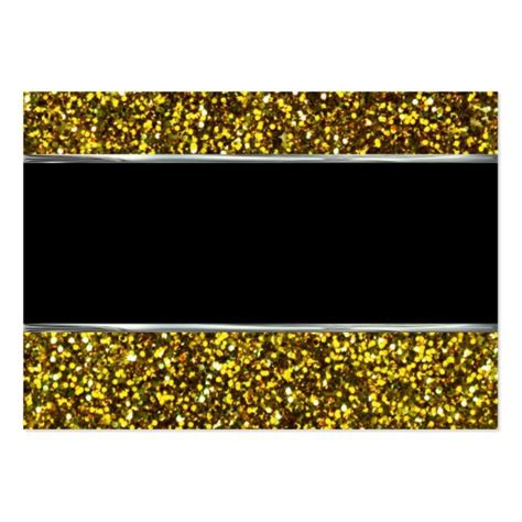 glitter template gold glitter business card template zazzle