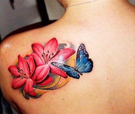 tatuaggi con fiori di loto e farfalle tatuaggi farfalle 200 foto e idee a cui ispirarsi