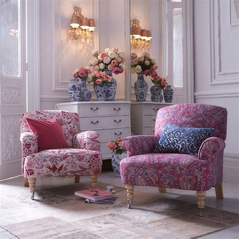 Printed Chairs Living Room Floral Print Sofa Trend For 2015 Ideal Home
