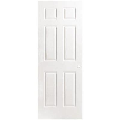 home depot solid core masonite 32 in x 80 in textured 6 panel solid primed composite single prehung interior