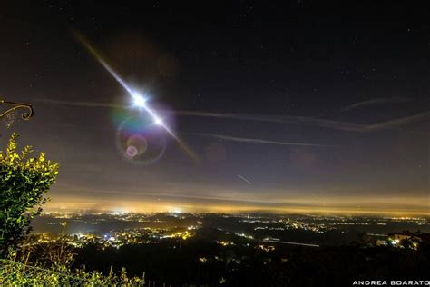 illumina italia bolide luminoso illumina il nord italia meteo giuliacci it