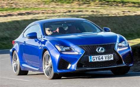 lexus sports car blue lexus rc f review a muscular sports saloon that speaks a